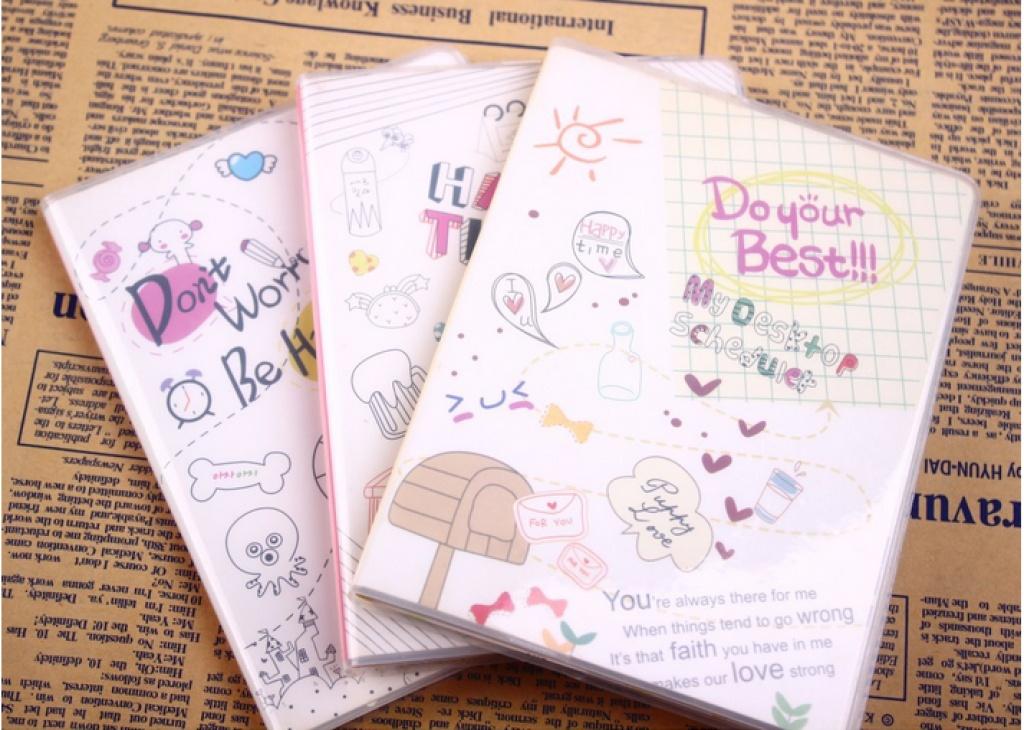 厂家直销卡通可爱时尚胶套本记事本日记本特价方便轻