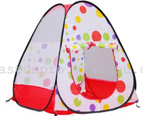 Lovely flowers, starry tent play house kids Dollhouse outdoor tent for children's toys