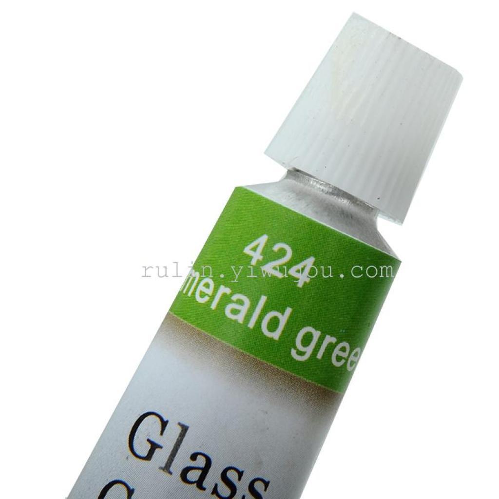 厂家直销来样定做12色玻璃画颜料