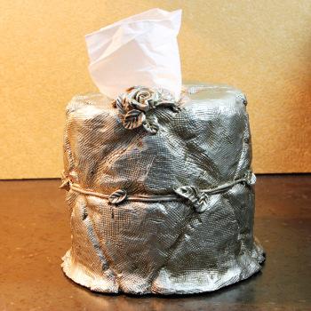 欧式奢华玫瑰雕花圆筒纸巾盒摆件 时尚创意家居抽纸盒
