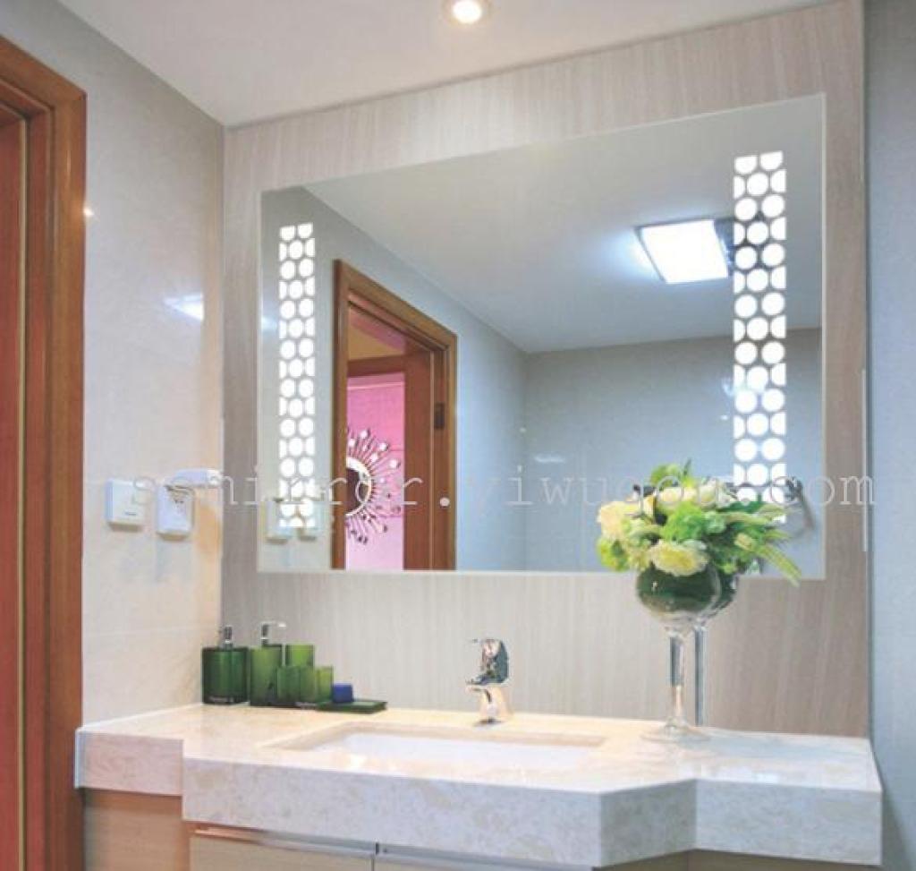 Decorative Bathroom Mirror With Lights : Supply wholesale factory direct deluxe bathroom mirror