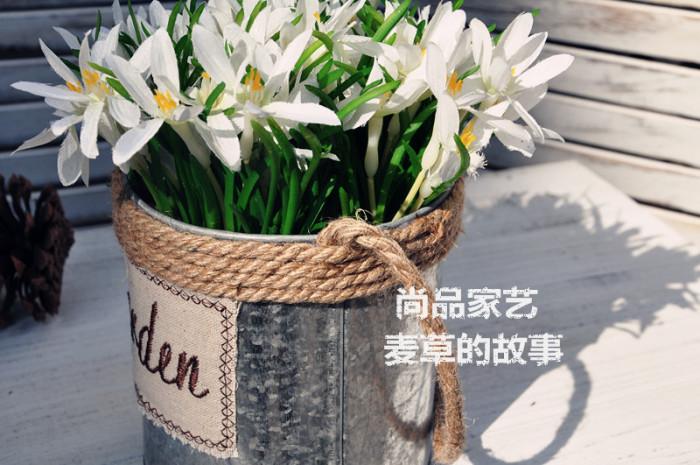 油桶手工制作 植物