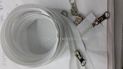 Clothing accessories double tail nylon zipper buttons snap button jeans button apparel buckles