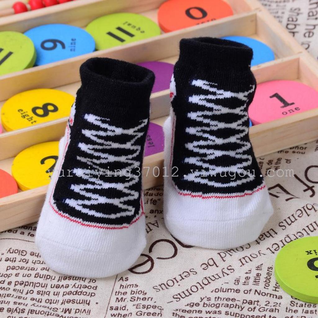 Supply Converse converse stereo socks newborn socks baby