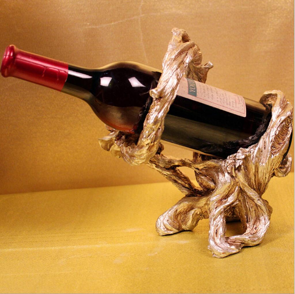 欧式奢华酒架创意红酒架装饰摆设结婚礼物礼品