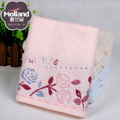 """""""Great cheap"""" cotton towel yarn Jacquard towel high-end roses gift gift towel"""