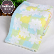 Flower couple towels towel double gauze made of absorbent cotton towel