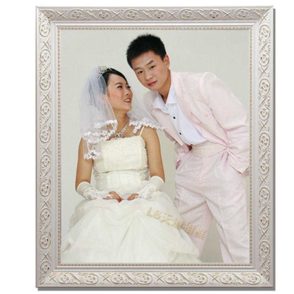 欧式实木婚纱照相框 复古相框全家福相框艺术照相框