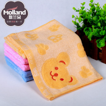 Pure cotton towel, towel, towel, bamboo fiber, child towel