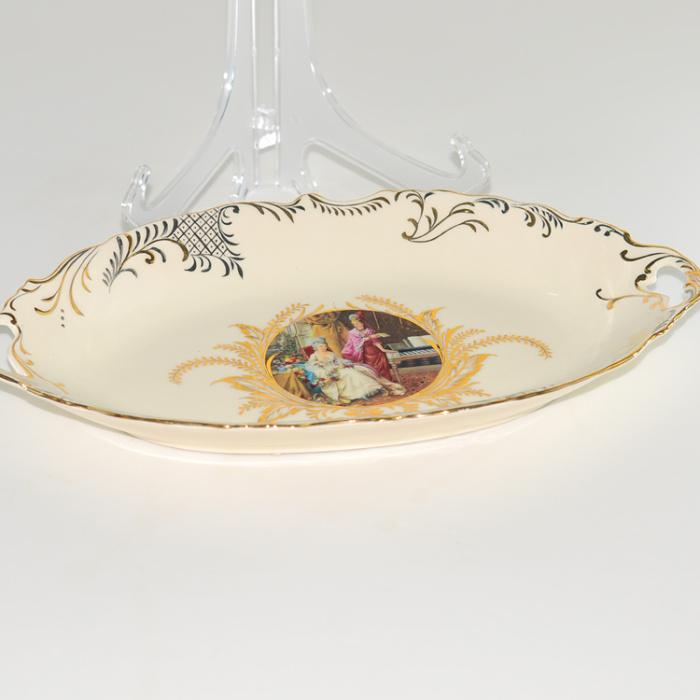 家居饰品复古摆件 客厅装饰欧式陶瓷水果盘