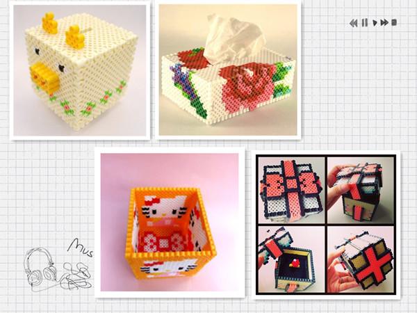 可爱小熊盒子拼拼豆豆diy益智拼图拼板新款玩具
