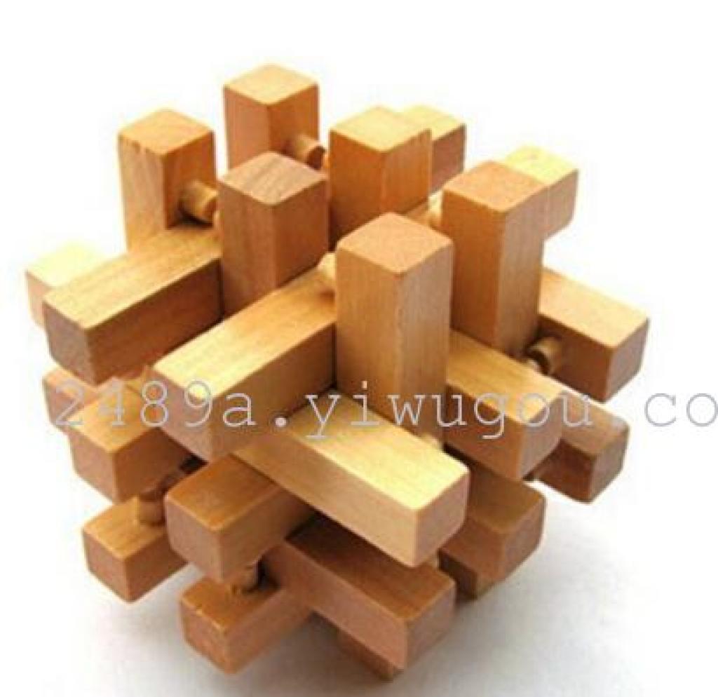 6根积木锁拼法图解