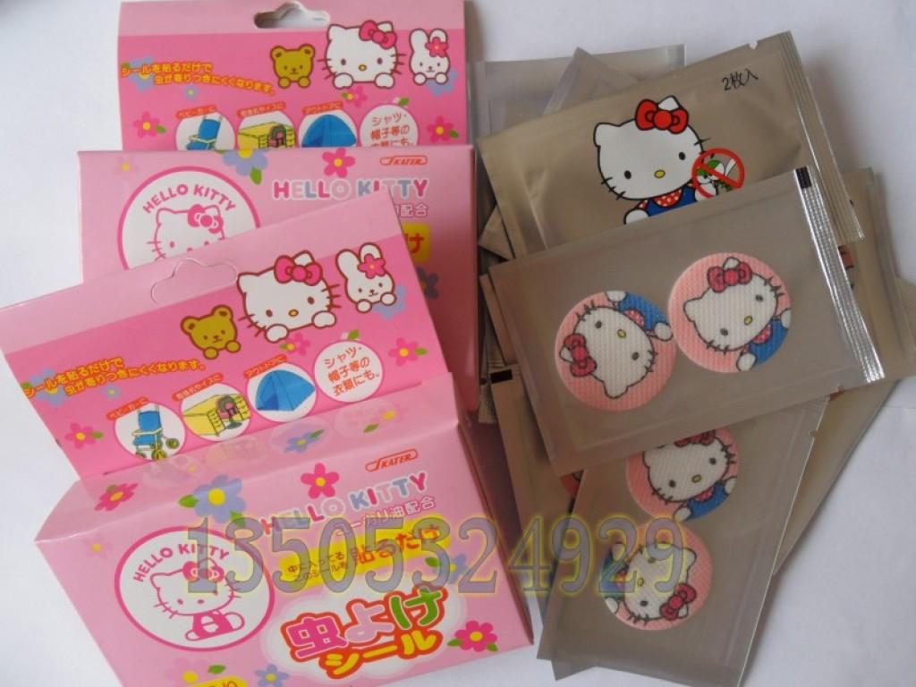 日本儿童驱蚊手环卡通防蚊贴