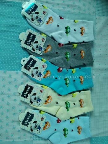 Comfortable and breathable fashion 3-12 of sewing cotton children socks cotton socks