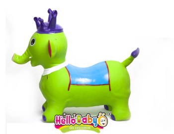balls painted elephant shaking music sound of music children's toys, inflatable Crown elephant elephant