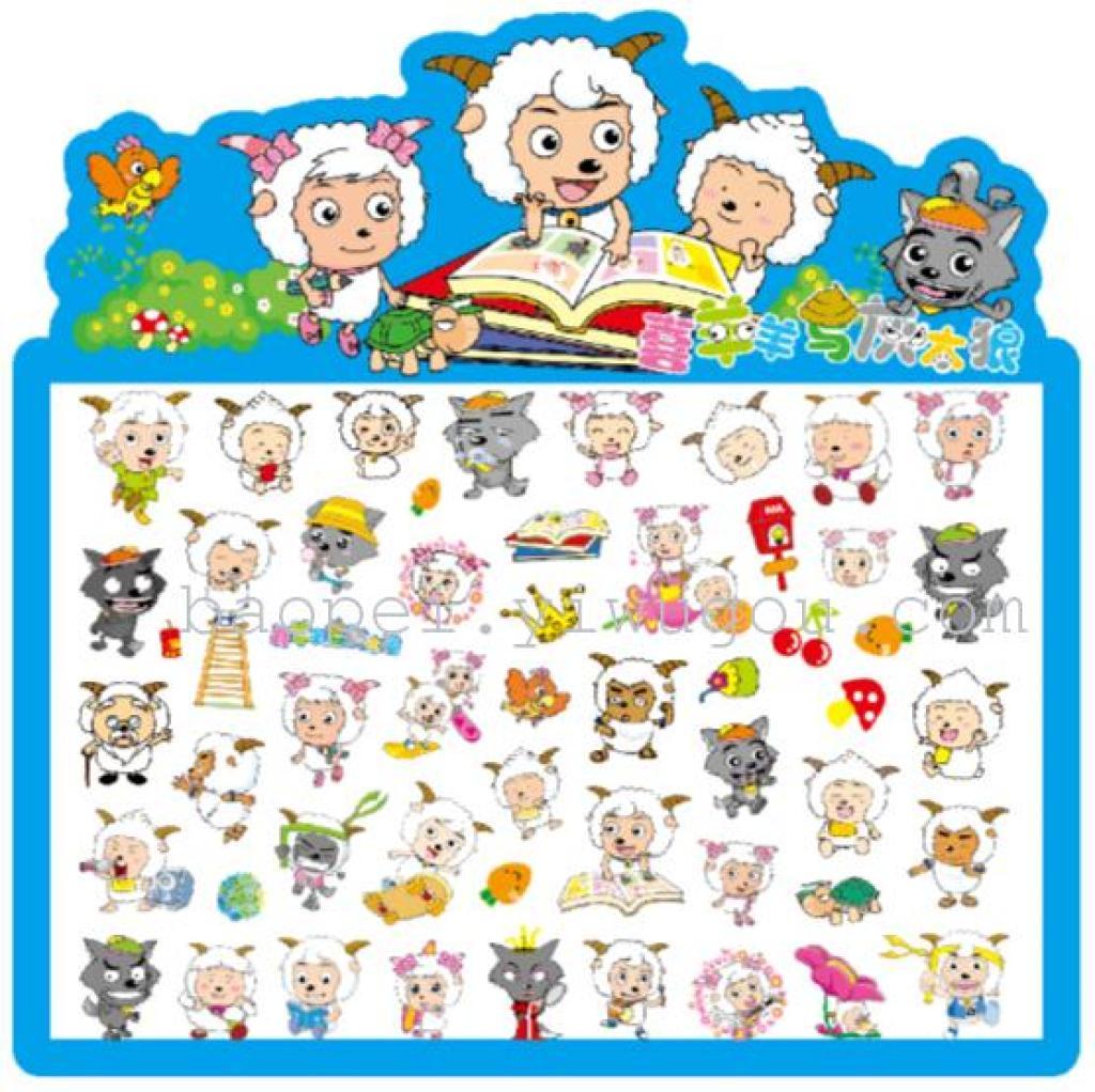 子供の漫画バブル ステッカー報酬携帯電話デコレーション ステッカー工場直接卸売バブルします。