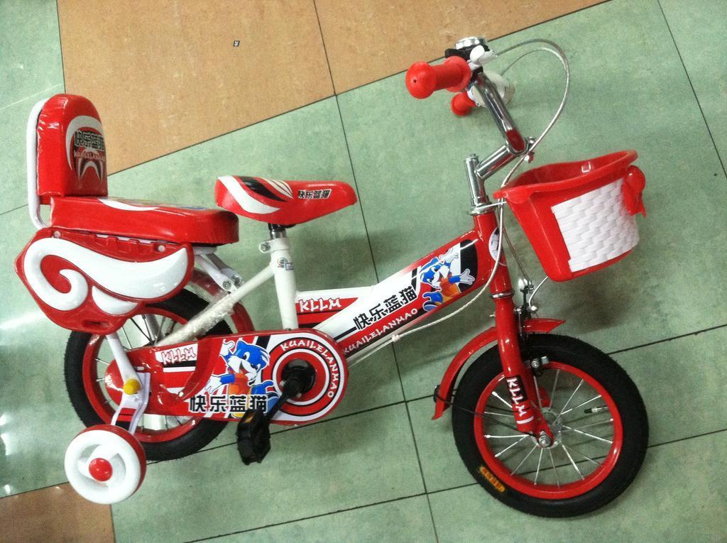 可爱 儿童自行车