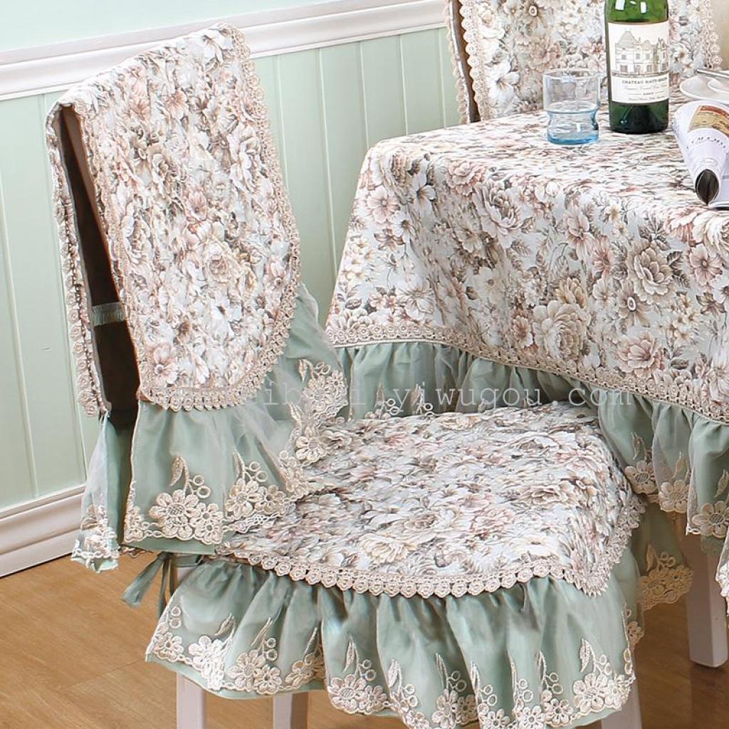 Loisirs marque fabricants grossistes nappe fleurie classique coussin 2 pièce set coussins