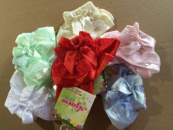 Breathable comfort children lace socks multicolor lace socks