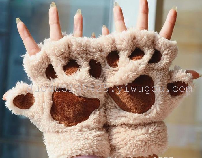 可爱女生穿猫爪丝袜
