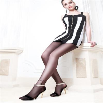 Attract power 20D anti-imitation anklets fashion pantyhose ladies Jacquard of silk stockings pantyhose