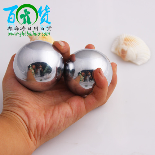 2nd steel ball fitness ball stainless steel factory direct wholesale hand massage hand exercise balls