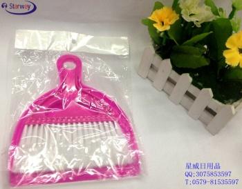 Mini plastic dustpan broom combination bucket PC mini broom brushes the dust brush combination factory outlet