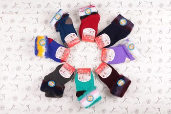 Fall/winter children warm brushed cotton socks for men and women of the new Joker child looped cotton socks factory wholesale