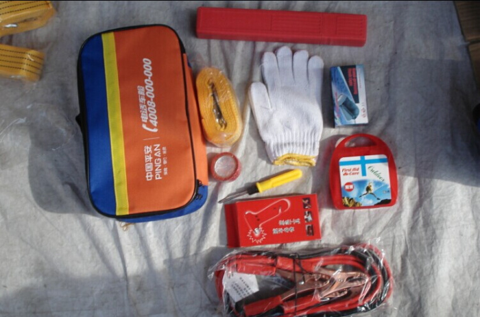 Supply Car emergency kit rescue package suits to save car tool first aid box The accessory ...