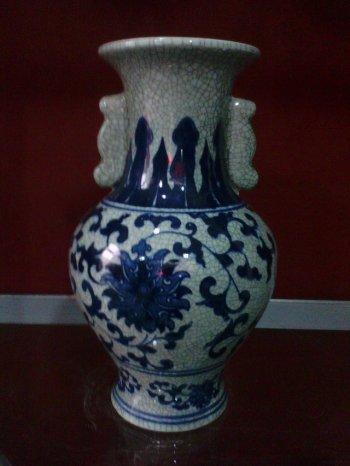 Jingdezhen ceramic arts and crafts ceramics decoration flower ceramic hand painted vases