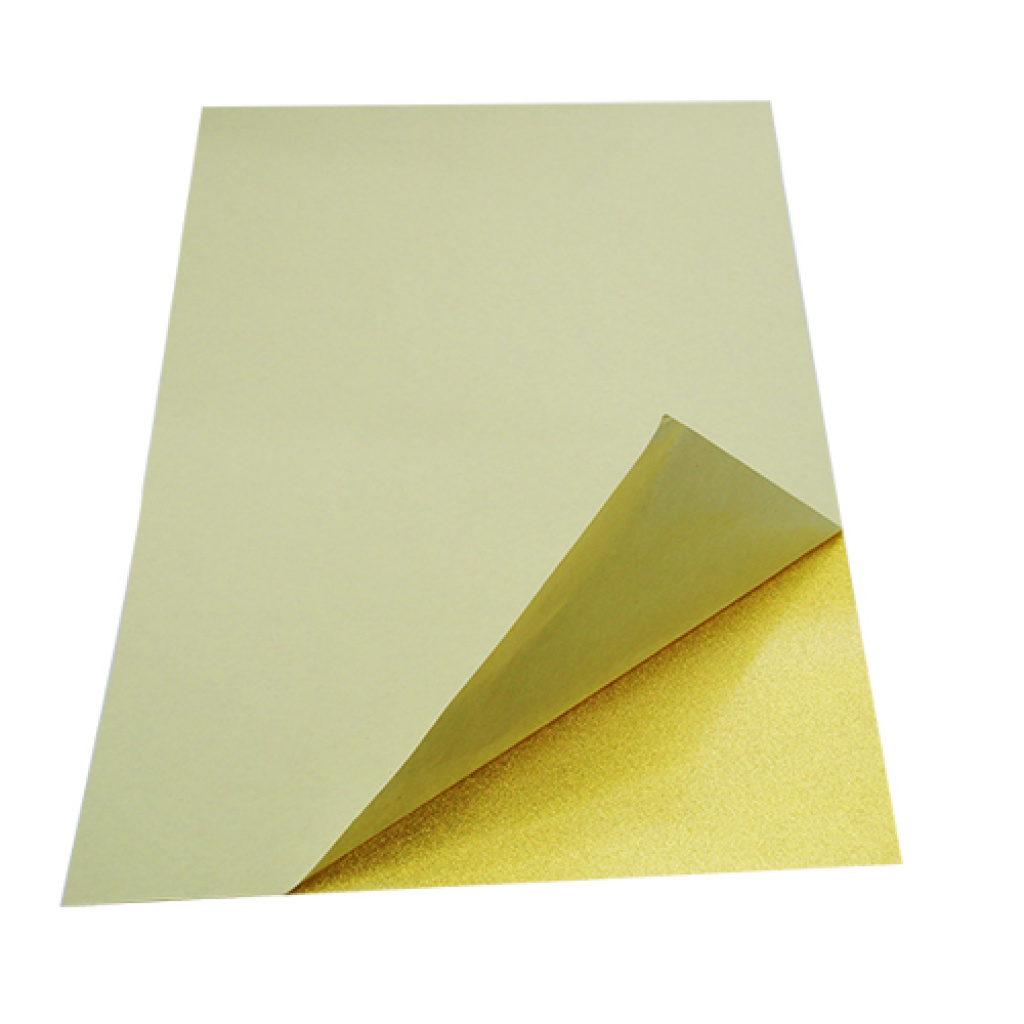 奖牌奖杯专用金箔纸双面带胶金银箔纸