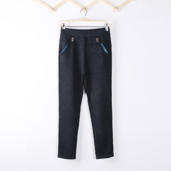 Big yards in spring and summer wear leggings pencil pants feet pants slim girl Korean version of trousers slim