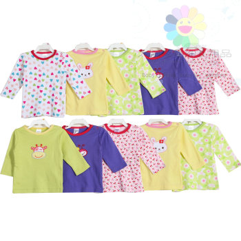 Carter's long sleeve cotton baby clothes baby dress baby clothes
