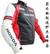 Factory HONDA motorcycle racing suit upscale warm padded unisex lined Jersey