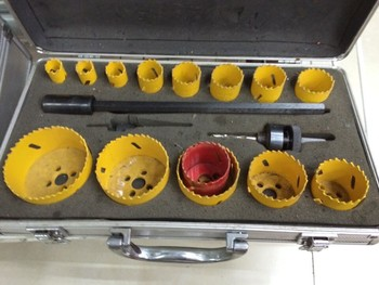 Opening bi-metal hole saw set hole opener manufacturers wholesale and retail