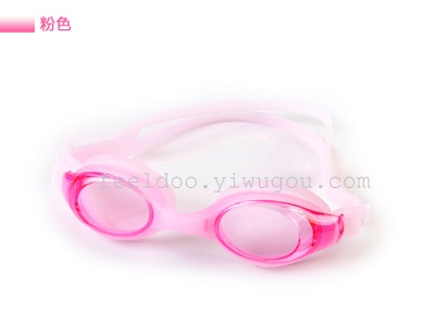 Professional silicone swimming goggles anti-fog swimming goggles, waterproof swimsuit big boy adult 2200