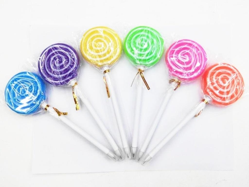 棒棒糖灯笔 可爱清新创意笔
