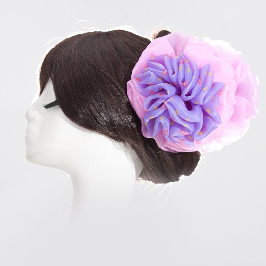 帽子纱带花制作图解