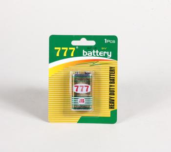 777 牌9V挂卡电池
