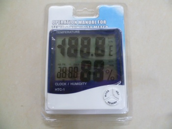 HTC-1 high-precision electronic big-screen indoor and outdoor temperature and humidity gauges display