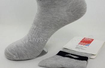 Thick fall/winter men's deodorant invisible socks boat socks boy cotton socks black white low tide men's sport socks