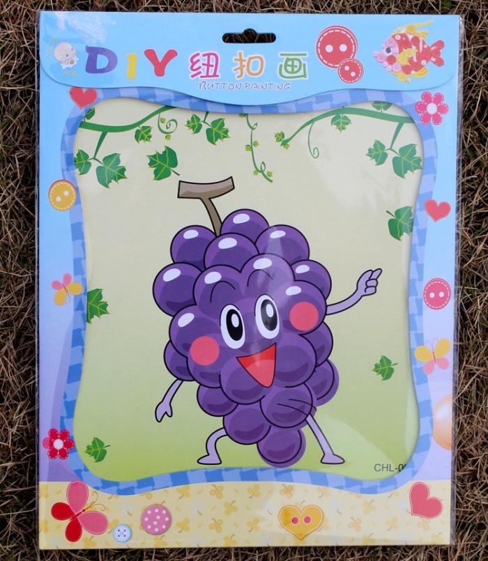 儿童手工diy制作材料包纸绳画幼儿园学校手工立体贴画图片