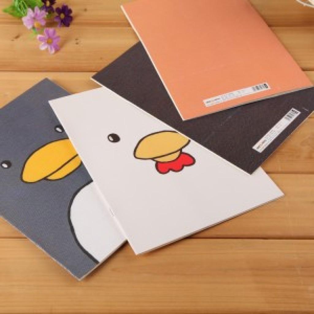 韩国文具 可爱卡通动物笔记本学生日记本创意笔记本子批发w