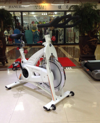 Haobo spinning ultra-quiet commercial gym dedicated weight loss exercise bike 0708PKS