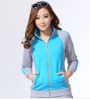 New Korean cotton casual sportswear ladies sportswear factory outlet