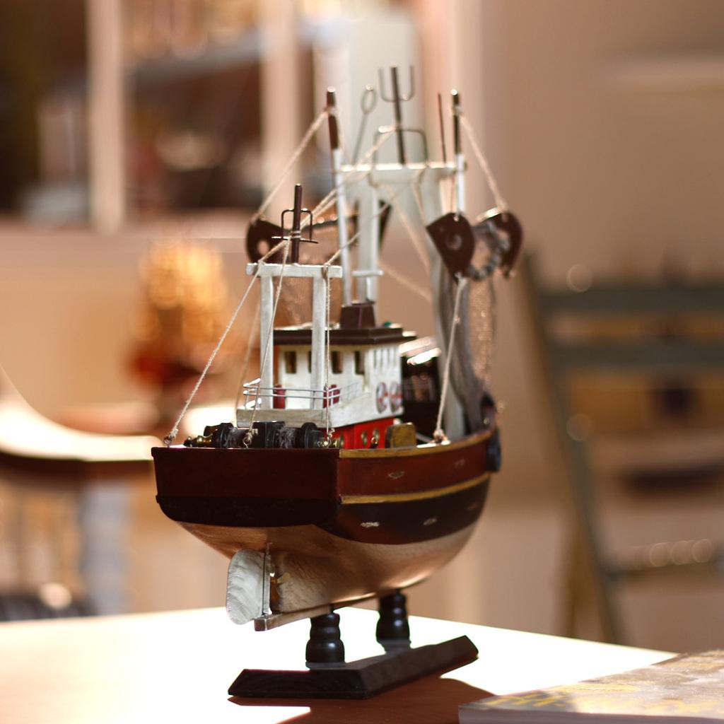 sb1245帕萨特帆船模型摆件