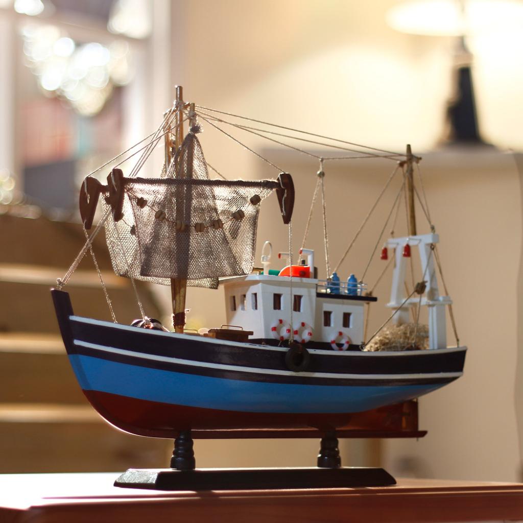 小木船模型工艺船