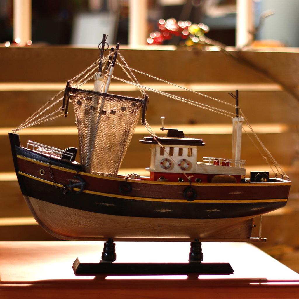 sb1203坎帕斯帆船模型摆件