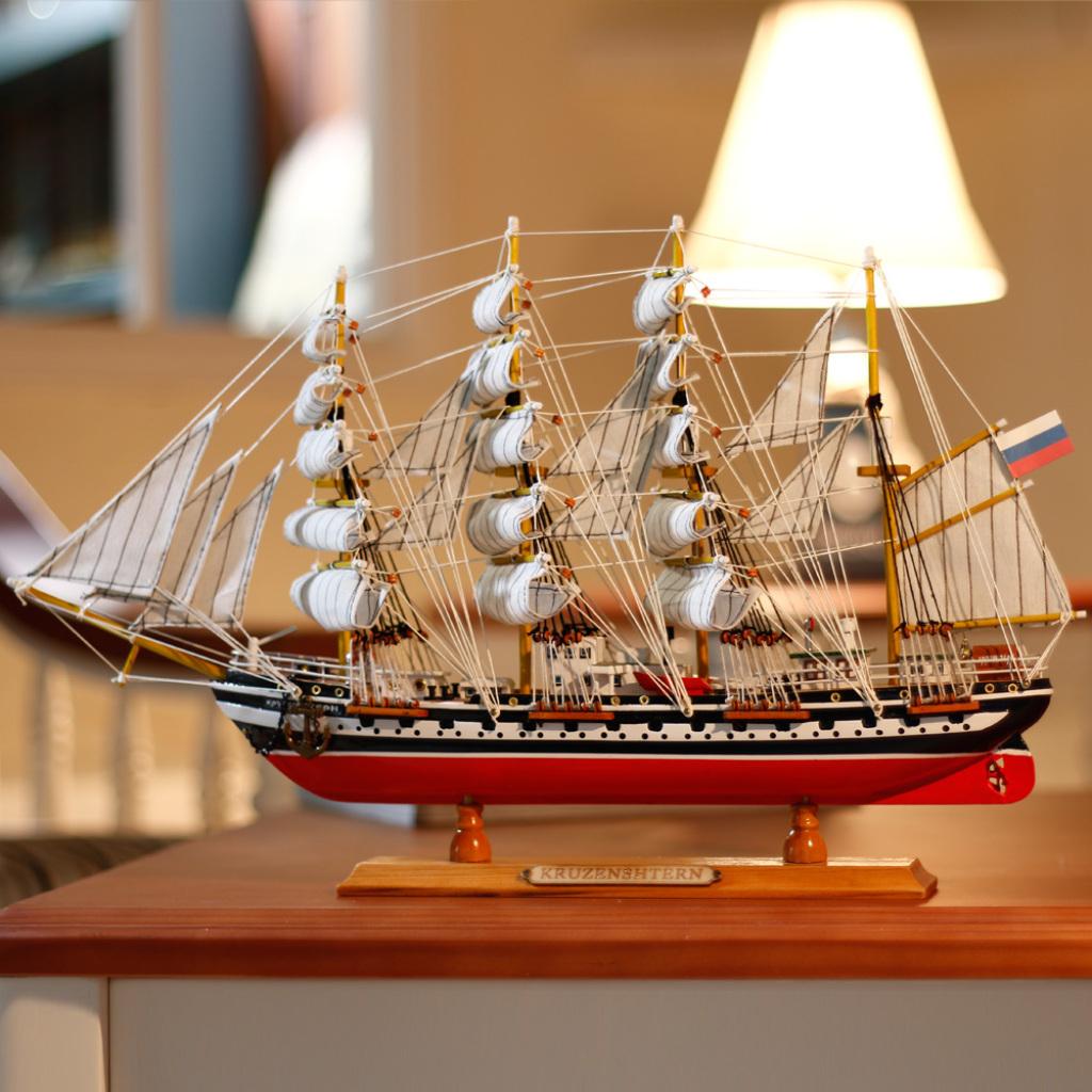 号帆船模型摆件