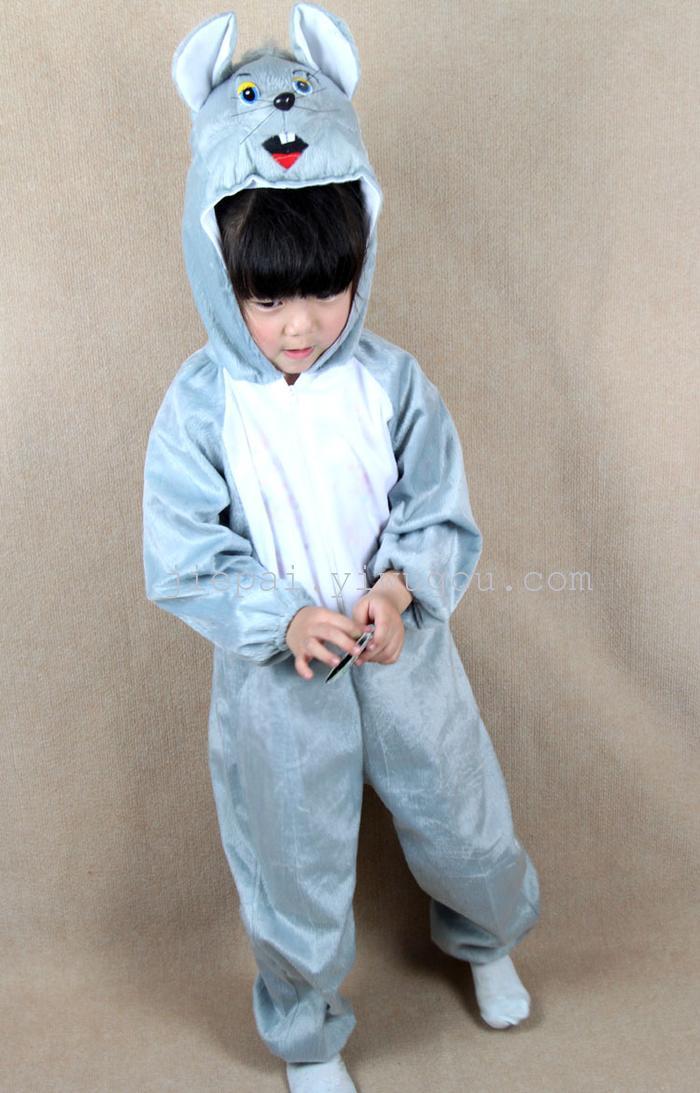 六一儿童节可爱老鼠动物服装 舞台表演服饰